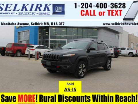 2016 Jeep Cherokee Trailhawk  *SOLD AS-IS*