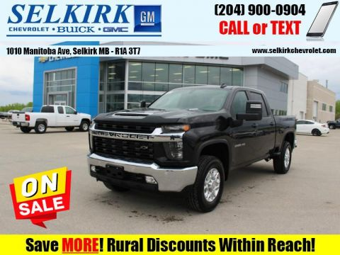 2020 Chevrolet Silverado 2500HD LT  - Leather Seats
