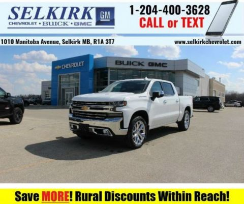 2019 Chevrolet Silverado 1500 LTZ  - Sunroof - Cooled Seats