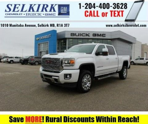 2019 GMC Sierra 2500HD Denali  - Navigation - Diesel Engine
