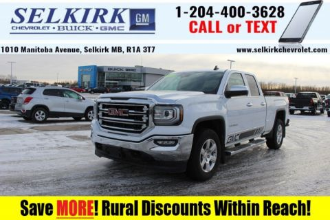 2017 GMC Sierra 1500 SLT  *REMOTE START, HEATED LEATHER