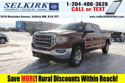 2017 GMC Sierra 1500 SLT  *HEATED LEATHER, REMOTE START