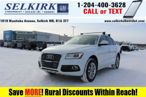 2014 Audi Q5 2.0L quattro Progressiv  - Leather Seats